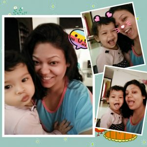 baby and mom